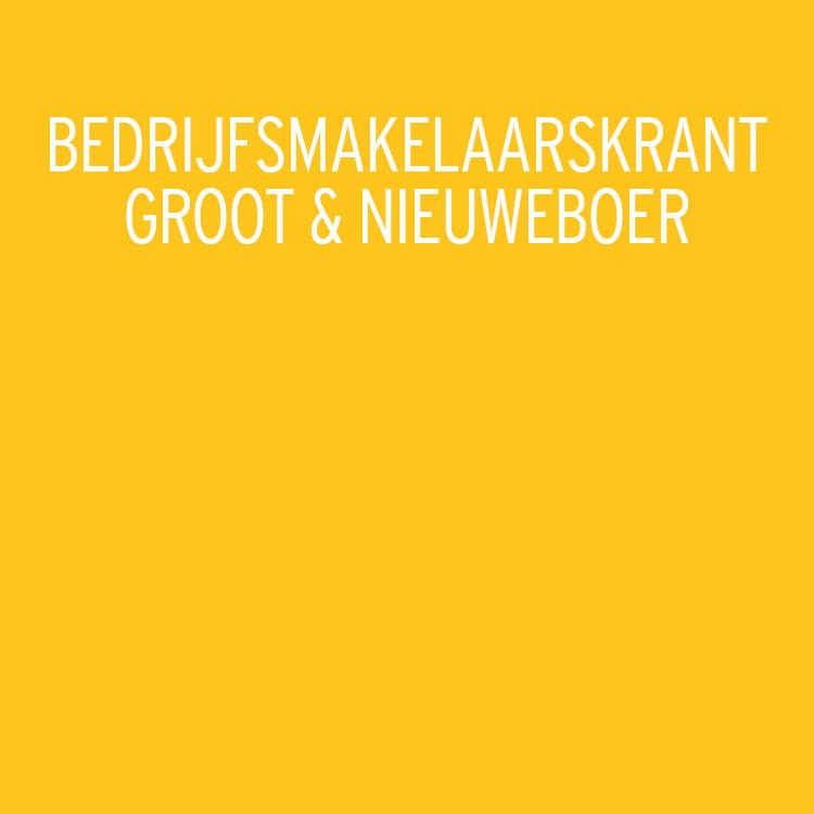 Groot & Nieuweboer, Makelaardij, Bedrijfskrant